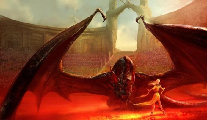 Drogon-Daenerys-arenas-de-combate