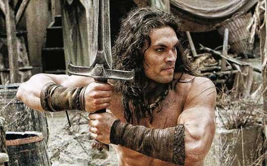 Jason Momoa como Conan