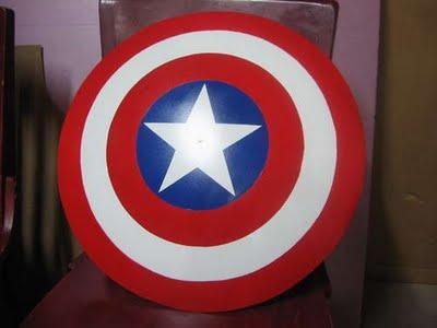 Tutorial para hacer el escudo del Capitán América