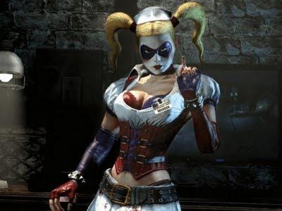 Harley Quinn en Batman Arkham Asylum