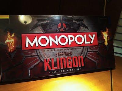 Monopoly Klingon star trek