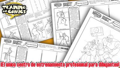 training for comics