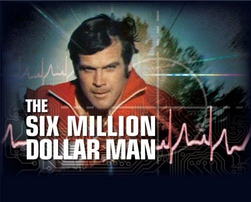 six million dollar man banner