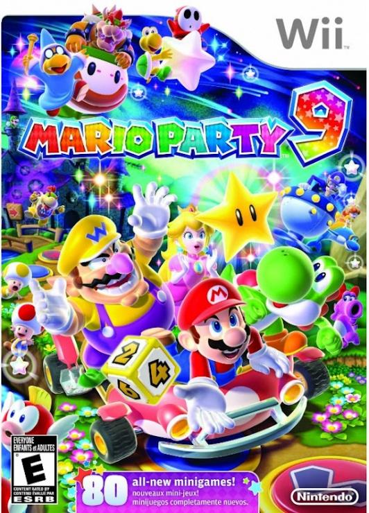 Mario Party 9 Portada Oficial