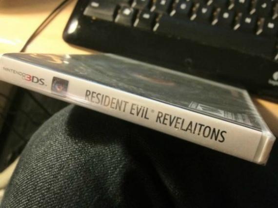caratula resident evil error revelaitons