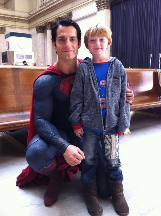 henry cavill nuevo superman hombre de acero