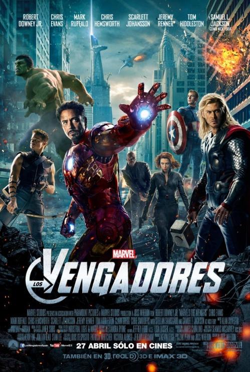 Nuevo poster de los Vengadores