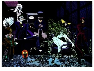 Batman el largo halloween villanos1