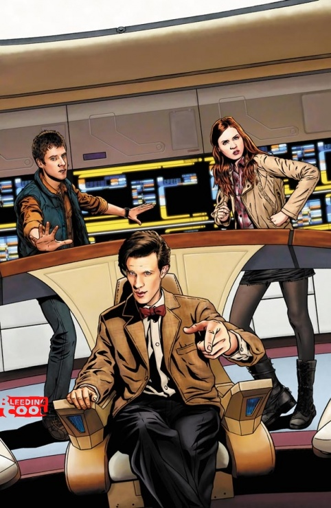 Doctor Who Star Trek Crossover IDW