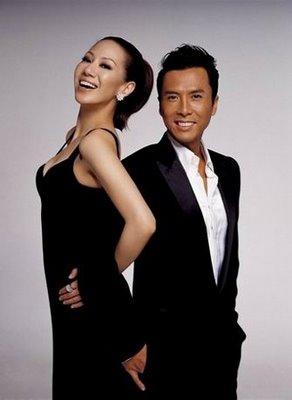 Donnie Yen y su mujer