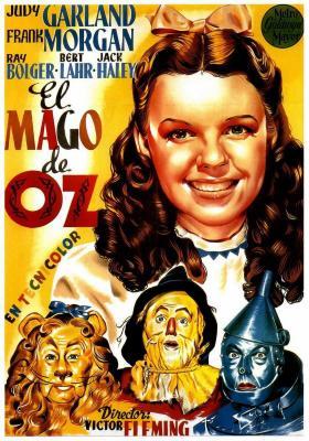 El mago de Oz 1939 poster