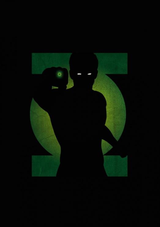 Green Lantern Sombra