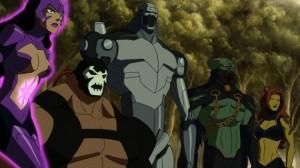 Liga de la justica Doom 3