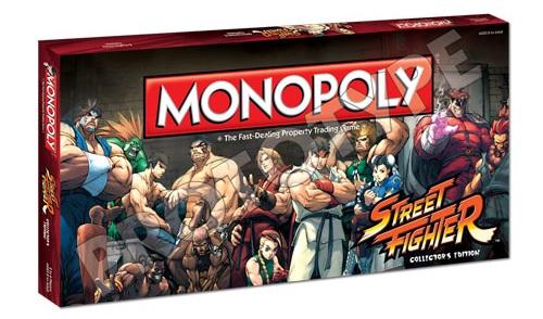 Monopoly de Street Fighter