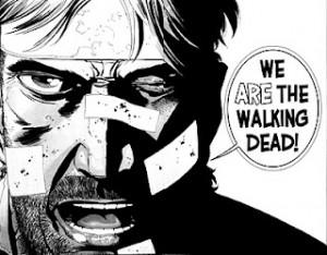 Rick Grimes Nosotros somos los caminantes
