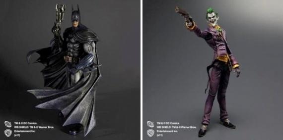 batman arkham asylum square enix figura joker