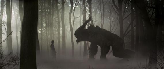 blancanieves y el cazador Kristen Stewart monstruo