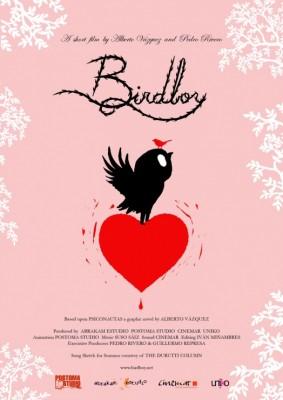 cartel Birdboy animacion corto