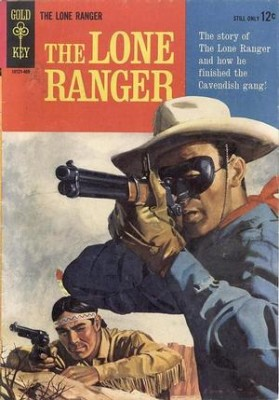 golden key lone ranger