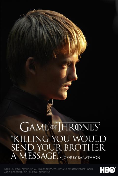 poster juego de tronos Joffrey Baratheon1