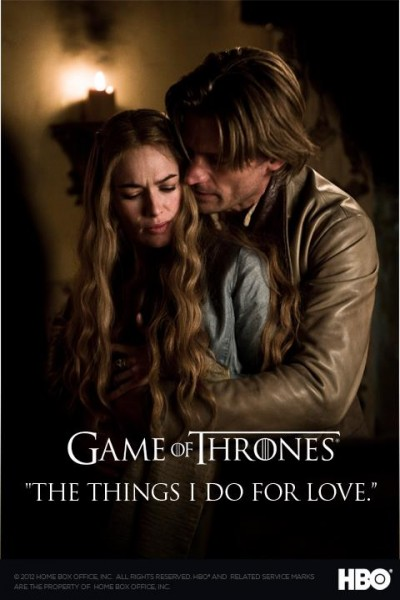 poster juego de tronos lannister