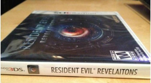 resident evil revelaitons error caratula