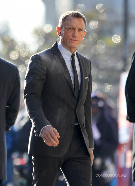 skyfall londres james bond daniel craig