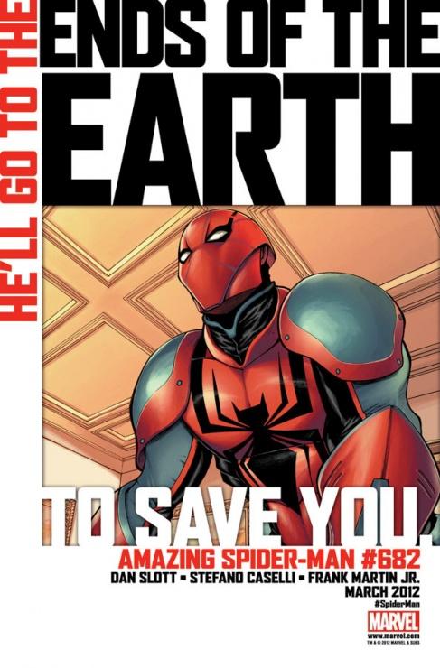 spider man nuevo traje end earth