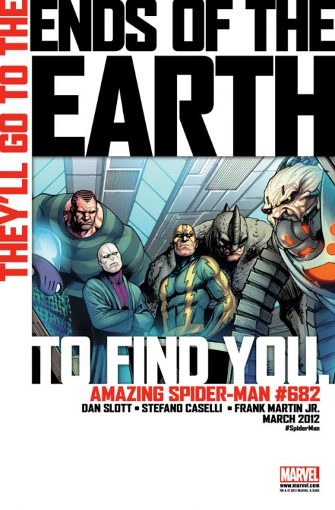 spider man seis siniestros end of the earth