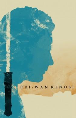 star wars la amenaza fantasmana poster minimalista obi wan kenobi