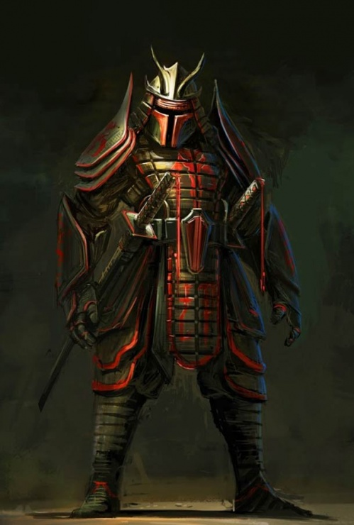 star wars samurai boba fett