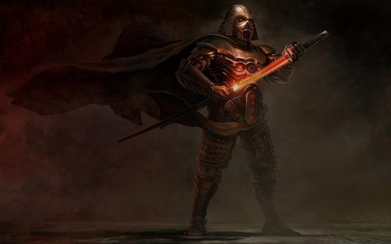 star wars samurai.darth vader