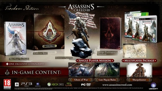 assasins creed 3 freedom edition