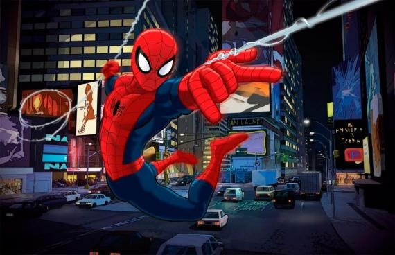 nueva promo de ultimate spiderman