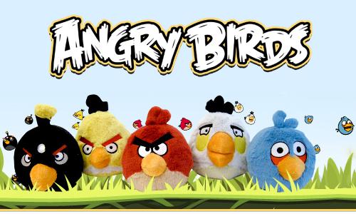 Parque de atracciones de Angry birds