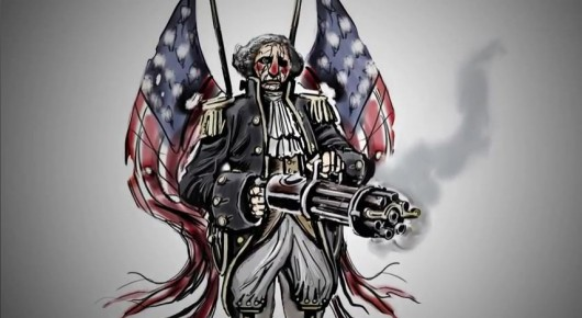 Bioshock Infinite george washington artwork