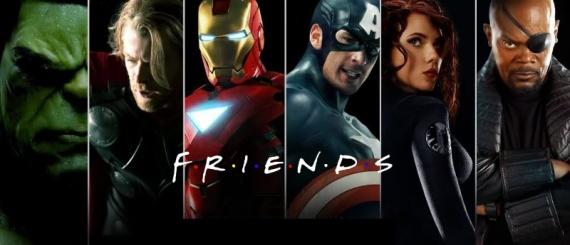 Friends Avengers