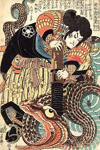 Jiraiya-contra-la-serpiente