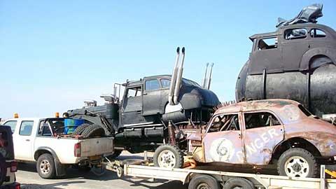 Mad Max Fury Road Cars 1