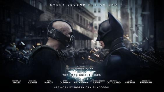 primer visionado de The Dark Knight Rises
