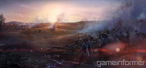 assassin creed 3 campo batalla guerra