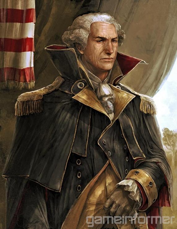 assassin creed 3 george washington