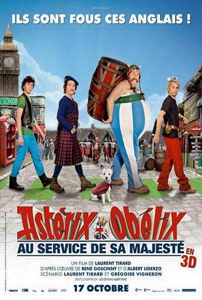 Asterix y Obelix Dios salve Bretaña