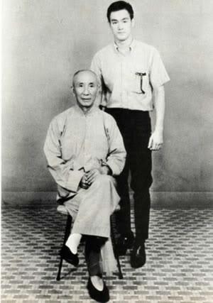 Bruce Lee y Yip Man