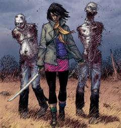 Michonne y sus mascotas