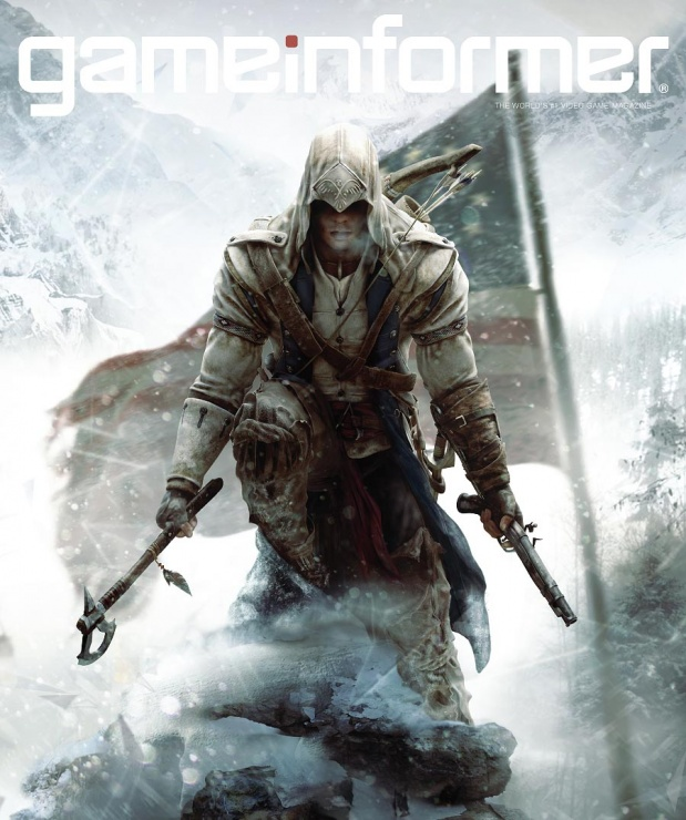 game informer april´s cover assasins creed 3