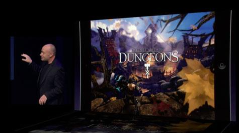 tráiler del nuevo infinity blade: dungeons