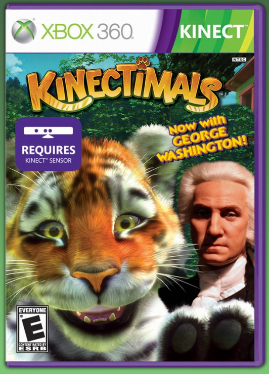 george washington kinectimals