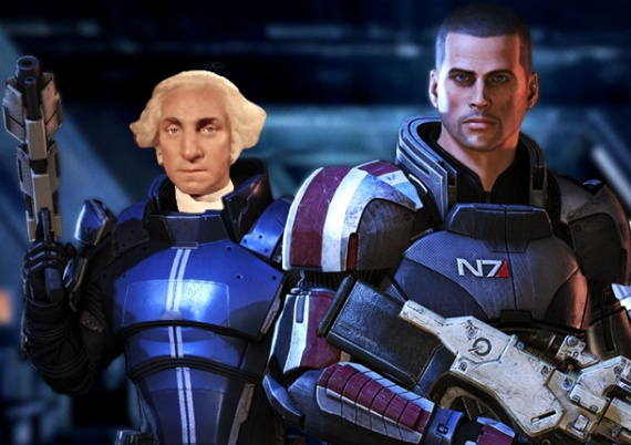 george washington mass effect