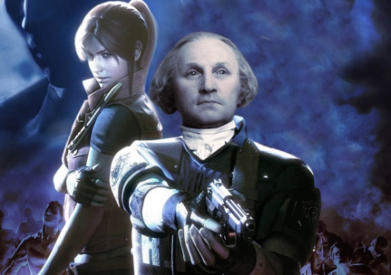 george washington resident evil
